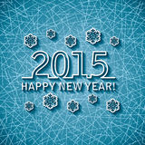 Vector happy new year 2015 Royalty Free Stock Image