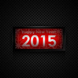 Happy new year card. Happy new year 2015 card Stock Photography