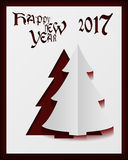 Happy New Year card. Happy New Year 2017 card Stock Photography
