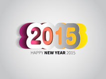 Happy New Year 2015 card  background Royalty Free Stock Images