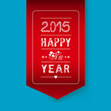 Happy new year card. Happy new year background and greeting card design Royalty Free Stock Photography