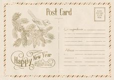 Happy new year card. Stock Photography
