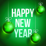 Happy new year card2-02 Royalty Free Stock Images