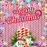Happy New Year card. EPS 10. Merry Christmas and Happy New Year card. EPS 10 vector file included Stock Images