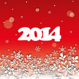 2014 Happy New Year Card Royalty Free Stock Images