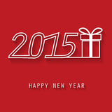 Happy new year card. 2015 new year greeting card, background, backdrop Vector Illustration