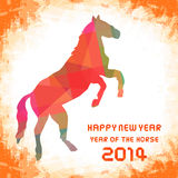 Happy new year 2014 card45. Happy new year 2014 card. Year of the Horse Stock Images
