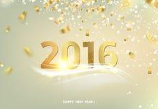 Happy new year card Royalty Free Stock Photos