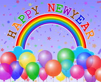 Happy new year card Royalty Free Stock Photo