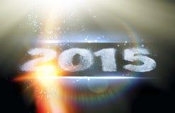 Happy new year card. Royalty Free Stock Photo