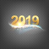 Happy new year card template. Happy new year card template over black background with golden sparks. Happy new year 2016. Template for your design. Vector vector illustration