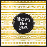 Happy New Year card. Royalty Free Stock Image