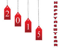 Happy new year card for 2015 Royalty Free Stock Photography