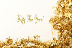 Happy New Year Card Royalty Free Stock Photo