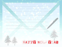 Happy new year 2014 cards f Stock Photos