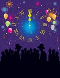 Happy New Year Celebration Stock Image