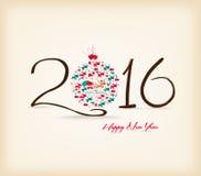 Happy New Year 2016 celebration background Royalty Free Stock Image