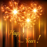 Happy New Year celebration background Royalty Free Stock Photography