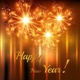 Happy New Year celebration background. Easy editable vector illustration