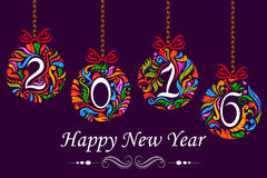 Happy New Year celebration background. Illustration of Happy New Year celebration background Royalty Free Stock Images