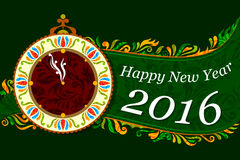 Happy New Year celebration background Royalty Free Stock Photos