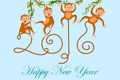 Happy New Year celebration background Royalty Free Stock Images