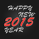 Happy New Year 2015 celebration background. Vector Royalty Free Stock Photography