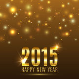 Happy New Year 2015 celebration background. Vector illustration Stock Photos