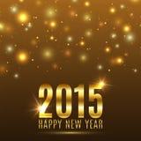 Happy New Year 2015 celebration background Stock Photos