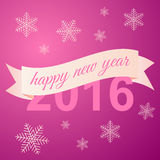 Happy New Year celebration background. Vector illustration Stock Images