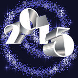 2015 happy new year Royalty Free Stock Image
