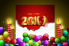 Happy New Year 2015 celebration concep Royalty Free Stock Photo