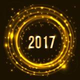 Happy New Year 2017 celebration Stock Photos