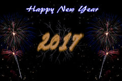 Happy New Year 2017 Stock Images