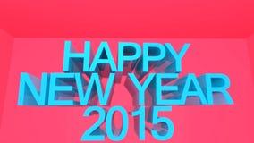 Happy New Year 2015 Celebration stock illustration