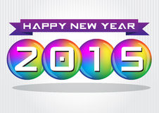 Happy new Year celebration. Eps 10 vector Stock Photography