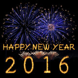 Happy New Year 2016. Royalty Free Stock Images