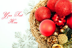 Happy New Year and Christmas  background Stock Photos