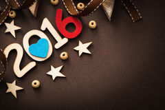 Happy 2016 New Year Stock Photos