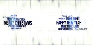 Happy New Year Christmas Stock Image
