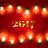Happy New 2017 Year. Royalty Free Stock Photography