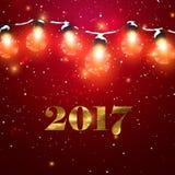Happy New 2017 Year. Stock Photos