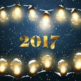 Happy New 2017 Year. Stock Image