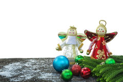 Happy new year, christmas, merry christmas isolate on the white background.  stock images