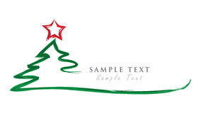 Happy new year. Christmas Tree. Bacgkround Stock Image