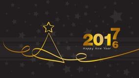Happy new year. Christmas Tree. Bacgkround Royalty Free Stock Photo