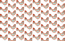 Happy new year cock. Pattern vector 2017 Royalty Free Stock Photo