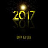 Happy new year. Colored happy new year background, Vector illustration Stock Photo