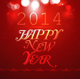 Happy new Year 2014. Colorful background Stock Illustration