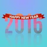 Happy new 2016 year Stock Photography